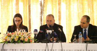 Conférence de presse de Jean- François Dauphin à Alger