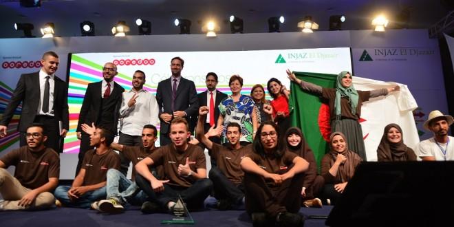 INJAZ El Djazair - Equipe de la meilleure entreprise junior